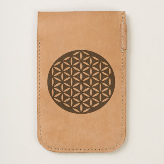Flower Of Life / Blume des Lebens - punched gold iPhone 6/6S Case