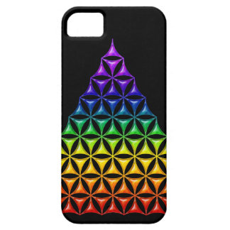 Flower Of Life / Blume des Lebens - pyramid chakra iPhone 5 Covers