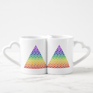 Flower Of Life / Blume des Lebens - pyramid chakra Coffee Mug Set