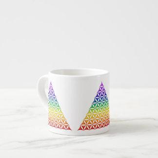 Flower Of Life / Blume des Lebens - pyramid chakra Espresso Cup