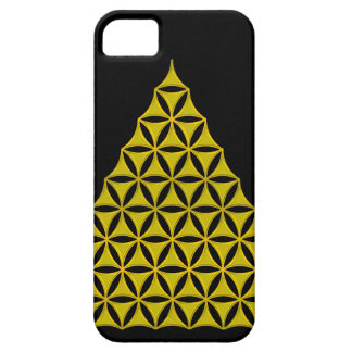 Flower Of Life / Blume des Lebens - pyramid gold iPhone 5 Cover