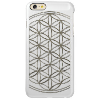 Flower Of Life / Blume des Lebens - SILVER Incipio Feather® Shine iPhone 6 Plus Case