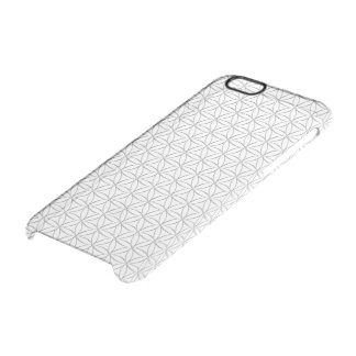 Flower Of Life / Blume des Lebens - silver pattern Uncommon Clearly™ Deflector iPhone 6 Case