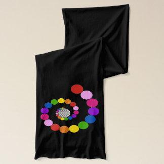 Flower of Life / Blume des Lebens - spiral dots Scarf
