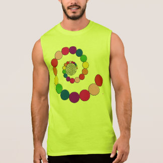 Flower of Life / Blume des Lebens - spiral dots Sleeveless Shirt