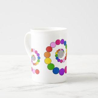 Flower of Life / Blume des Lebens - spiral dots Tea Cup