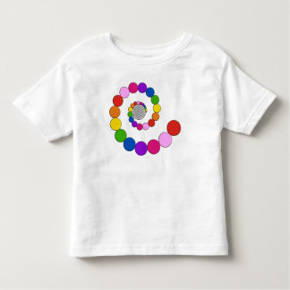 Flower of Life / Blume des Lebens - spiral dots Toddler T-shirt