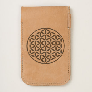 Flower Of Life / Blume des Lebens - stamp gold iPhone 6/6S Case