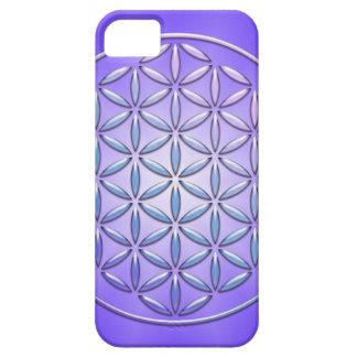 Flower of Life / Blume des Lebens - stamp violet iPhone 5 Cover