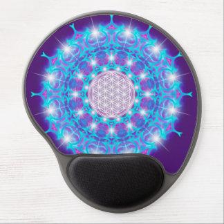 FLOWER OF LIFE/Blume des Lebens Stars Mandala Gel Mouse Pad