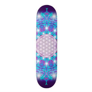 FLOWER OF LIFE/Blume des Lebens Stars Mandala Skateboard