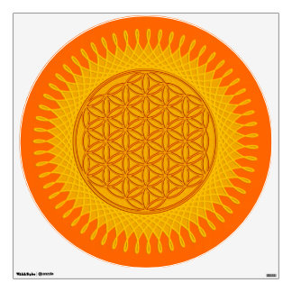Flower of Life Blume des Lebens - SUNNY Wall Stickers
