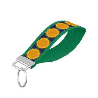 Flower Of Life / Blume des Lebens - SUNNY yellow Wrist Keychain