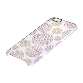 Flower Of Life / Blume des Lebens - tiles pattern Uncommon Clearly™ Deflector iPhone 6 Case
