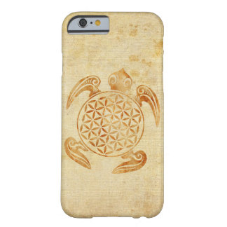 Flower of Life / Blume des Lebens - turtle stone Barely There iPhone 6 Case