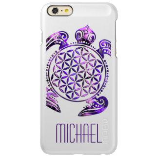 Flower Of Life / Blume des Lebens - turtle violet Incipio Feather Shine iPhone 6 Plus Case