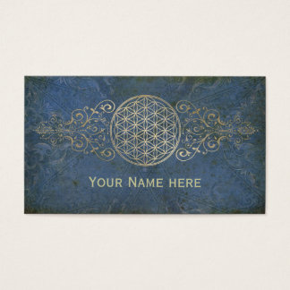 Flower of Life / Blume des Lebens - vintage IX Business Card