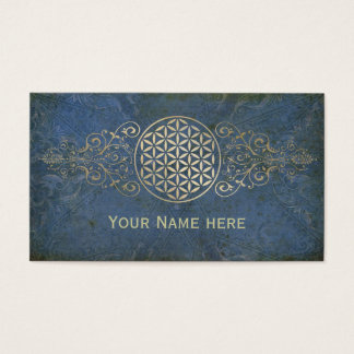 Flower of Life / Blume des Lebens - vintage X Business Card