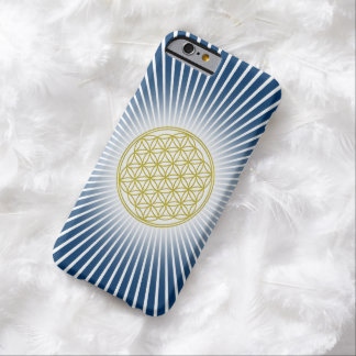 Flower Of Life / Blume des Lebens - white rays Barely There iPhone 6 Case
