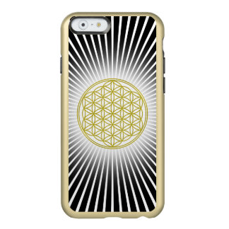 Flower Of Life / Blume des Lebens - white rays Incipio Feather Shine iPhone 6 Case