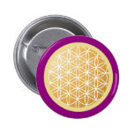 Flower of Life Button