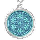 Flower Of Life - Button Style 01 Pendants
