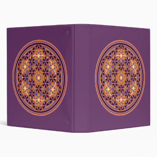 Flower Of Life - Button Style 02 Binder