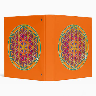 Flower Of Life - Button Style 03 Binder