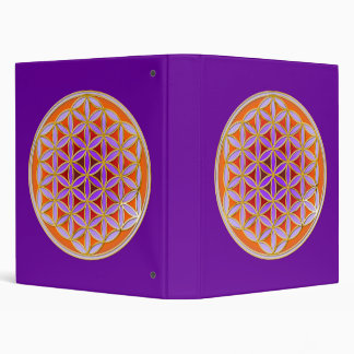 Flower Of Life - Button Style 04 Binder