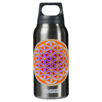 Flower Of Life - Button Style 04 Insulated Water Bottle