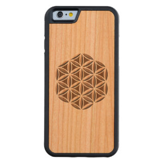 Flower of Life Carved Carved® Cherry iPhone 6 Bumper