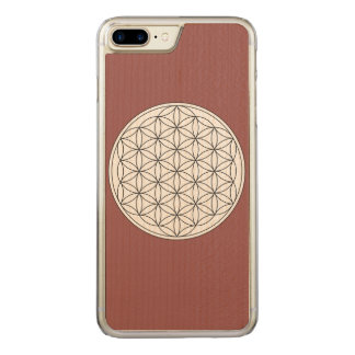 Flower of Life Carved iPhone 8 Plus/7 Plus Case