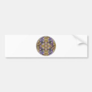 Flower of Life (Color 2) Car Bumper Sticker