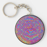 Flower of Life (Color 2) Key Chains