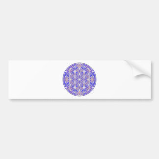 Flower of Life (Color 3) Car Bumper Sticker
