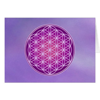Flower of Life - Crown Chakra Cards