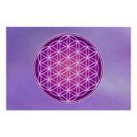 Flower of Life - Crown Chakra Print