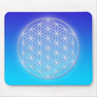 Flower of Life - Dolphin Energy Mouse Pad
