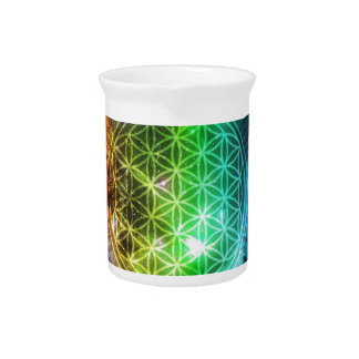 Flower of Life Drink Pitchers