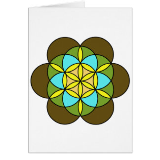 Flower of Life Earth2 Card