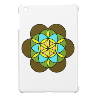 Flower of Life Earth2 Cover For The iPad Mini