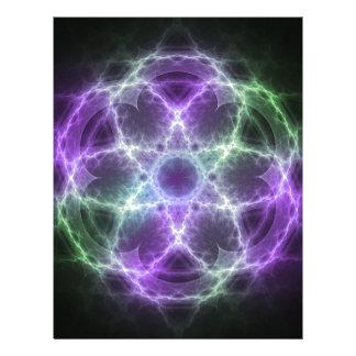 Flower of Life Fractal - Sacred Geometry Letterhead