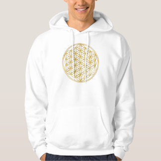 Flower OF Life | gold big Pullover