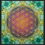 "Flower Of Life - gold - fractal 2 Napkin<br><div class=""desc"">Spirit Symbol Design by EDDA Fr&#246;hlich / EDDArt 
