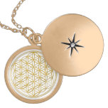 FLOWER OF LIFE - gold Personalized Necklace