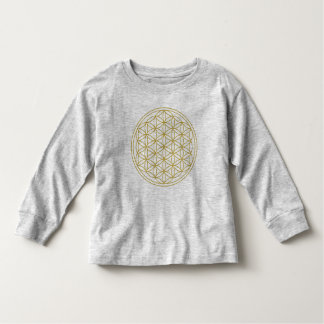 Flower of Life Gold Shirts