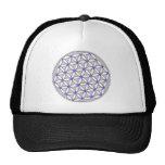 Flower of Life Gray Lilac Trucker Hat