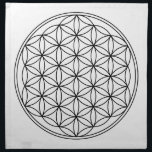 "Flower of Life Grid Cloth<br><div class=""desc"">Made of 100% grade A woven cotton,  machine washable,  create in any color you like,  Sewn in the USA</div>"
