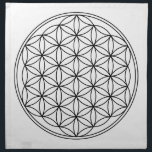 """Flower of Life Grid Cloth<br><div class=""""desc"""">Made of 100% grade A woven cotton,  machine washable,  create in any color you like,  Sewn in the USA</div>"""