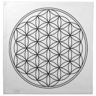 Flower of Life Grid Cloth